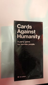Cards against humanity new in box Guelph, N1K 1M2
