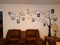 Large Family Tree Wall Decal. New in pack.