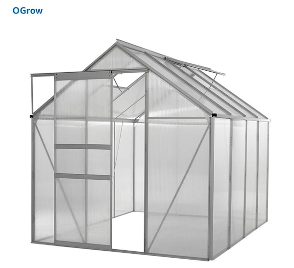 Still in the box greenhouse