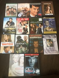 127  DVD of all sorts of movies Mandeville, 70448