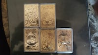 Collector's edition gold plated pokemon cards  Auburn, 98001