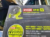 Ryobi fan new in box Edmonton, T5P 3M8