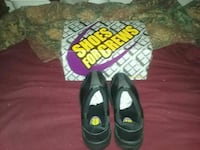 pair of black slip-on shoes with box Monterey, 93940
