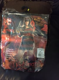 Women's miss krueger costume pack Rancho Cordova