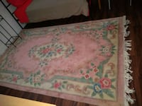 white, pink, and green floral textile Lomita, 90717