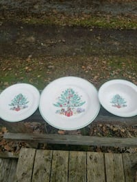 Gibson Christmas Dishes Kunkletown, 18058