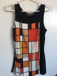 women's black and red sleeveless dress Toronto, M1G 3P7