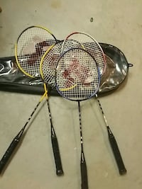 two black and brown tennis rackets Burnaby, V3N 1Z3