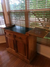 Buffet table handmade authentic wood