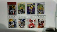 Collectable football cards