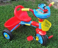 2011 .. Kiddieland .. Gullane .. Limited Thomas the Train Tricycle Lights and Sounds. Thomas Train Tricycle with lights and sounds. In excellent condition. Adjustable seat for growth. Very entertaining tricycle for a child. This is a really nice item,  Bristol, 19007