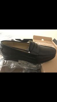 black leather slip-on shoes Chelsea, 02150