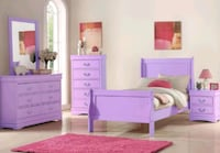 Brand New☆Global Purple Youth Bedroom Set☆39$ Down Payment Baltimore, 21225
