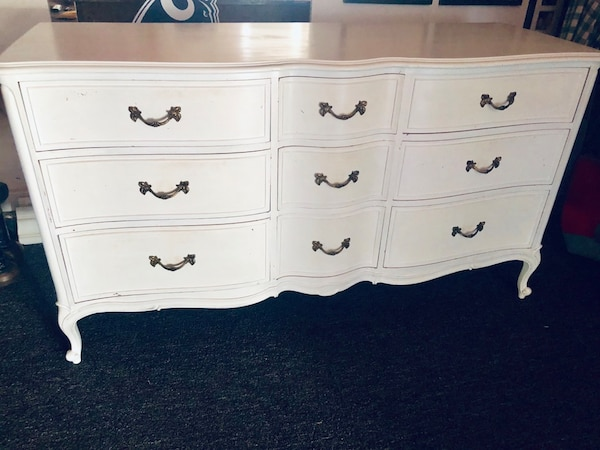 Used Rustic Shabby Chic Dresser For
