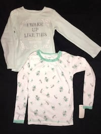 4T Carter's girls shirts Lot of 2