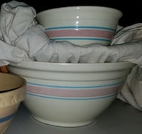 McCoy yellow ware mixing bowls Clearwater, 33756