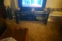 Nice Triangle Entertainment TV Stand  Council Bluffs