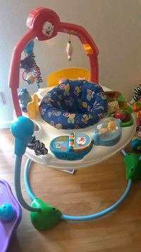 baby's white and blue jumperoo Round Rock, 78664
