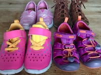 Girls size 8c shoe lot Healdsburg, 95448