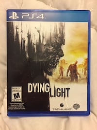Dying Light PS4 game case
