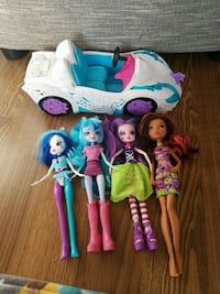 My little pony equestria girls and car Port Coquitlam, V3B 1A8