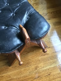 camel leather saddle  GUELPH