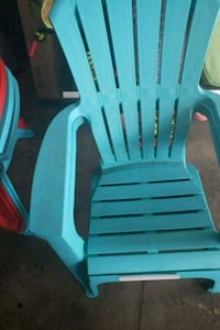 gray and blue plastic  armchair Midway, 31320