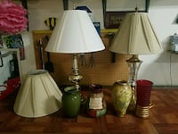 2 lamps and 4 vases Kennewick, 99338