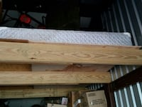 Queen size matress box springs and frame