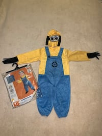 Despicable Me Minion Dave Costume, sz Toddler 2-4 Reston, 20194