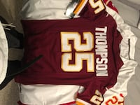 Women's Chris Thompson size small jersey with tags  Oxon Hill, 20745