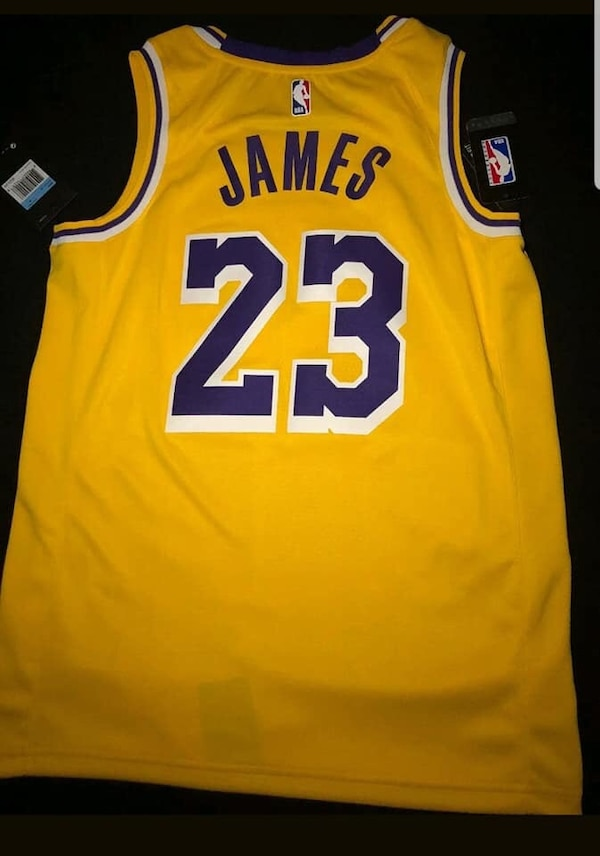 size 40 3b87d 55ec1 Lakers lebron James Jersey new/best offer