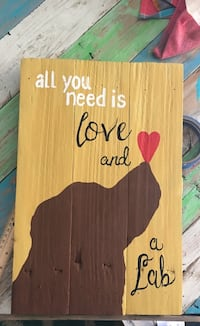 Personalized dog paintings on reclaimed wood.  You pick dog and background color.  One in pic not for sale   Elkton, 21921