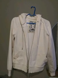 white zip-up jacket Alexandria, 22310