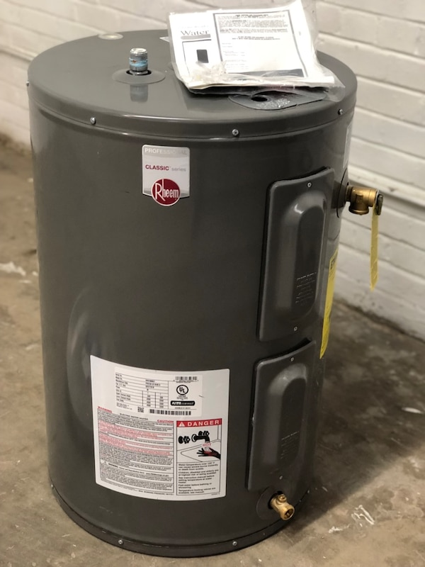 Used Rheem 30 Gallon Electric Water Heater New For Sale In Dallas