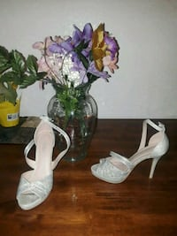 pair of women's ankle-strap pumps Mankato