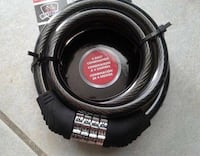 Brand new bicycle lock with combination number  New Westminster