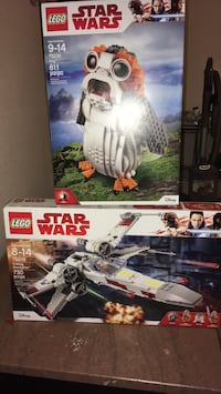 Lego Star Wars porg and XWing resistance fighter new Issaquah, 98027