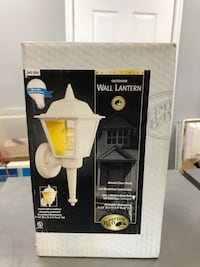 Wall lantern light fixture white new Leesburg, 20175