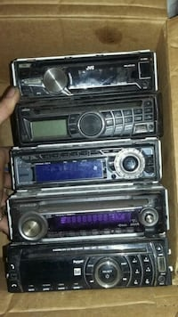 Box of Assorted Vehicle Stereo/ CD Players