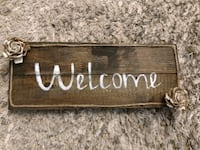 Welcome sign FREDERICK