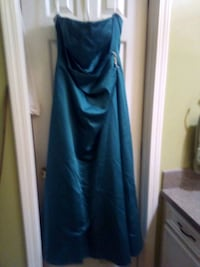 Teal colored dress Madison, 39110