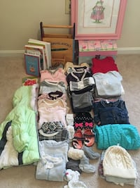 Baby's assorted clothes, books, & toys Springfield, 22150