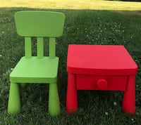 IKEA Chair  & Table - both for $40