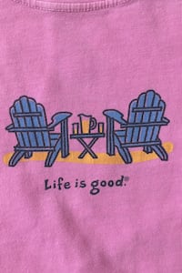Life is Good T-shirt size S Herndon, 20171
