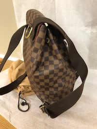 Brown and black checkered backpack Palatine, 60074