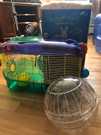 Two green and blue pet cages Halifax, B3R 1W5