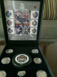 NHL ALL-STAR COMMEMORATIVE STAMP AND MEDALLION SET