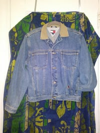 Ladies XL EUC TOMMY HILFIGER Denim Jacket
