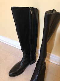 FRANCO SARTO Black Riding Boots Richmond Hill, L4C